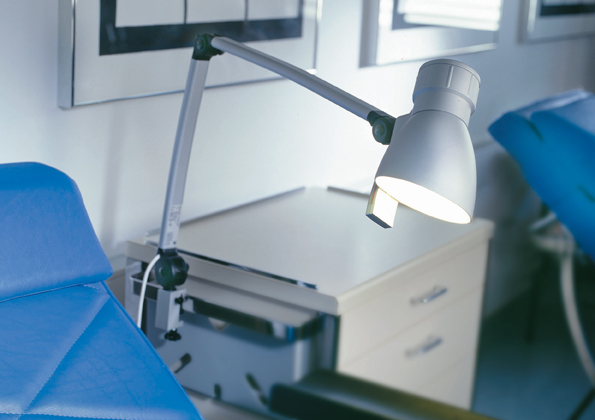 MediCool Patient Room Reading Light-59