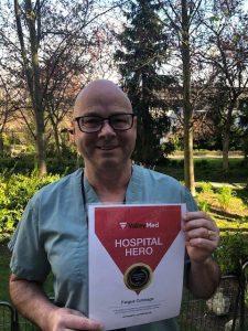 Revealed: Our Winner of the Coronavirus Hospital Hero 2020 Award ValleyMed