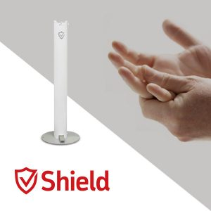 Pedal Activated Hand Sanitizer Stand | Shield Industrial